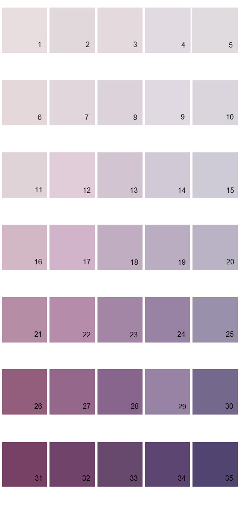 Pittsburgh Paints House Paint Colors - Palette 31