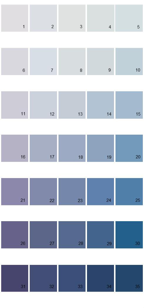 Pittsburgh Paints House Paint Colors - Palette 32