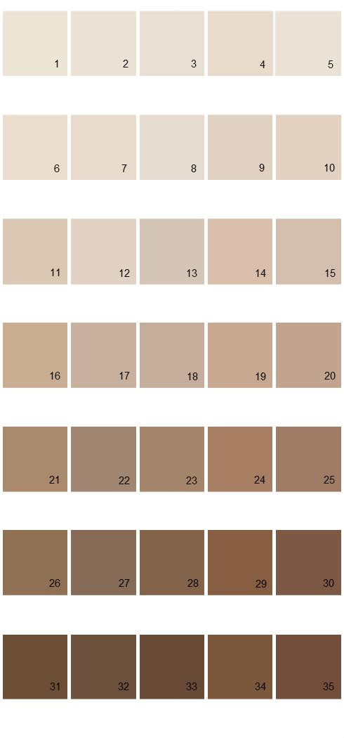 Pittsburgh Paints House Paint Colors - Palette 38