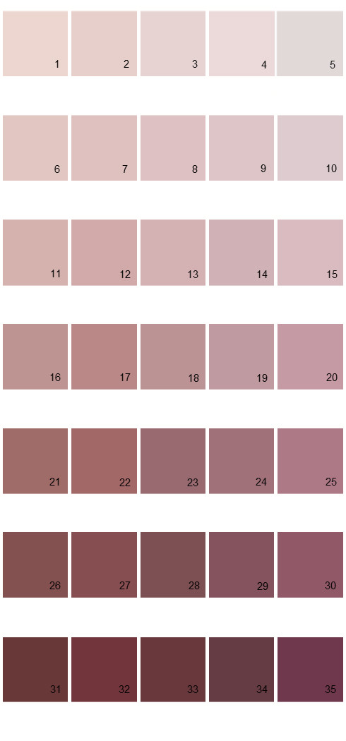 Pittsburgh Paints House Paint Colors - Palette 41