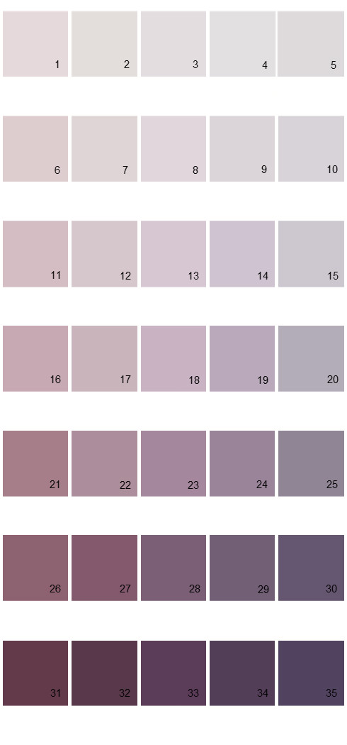 Pittsburgh Paints House Paint Colors - Palette 42