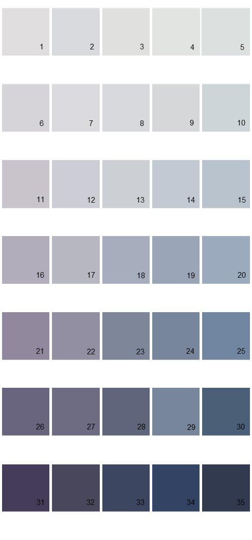 Pittsburgh Paints House Paint Colors - Palette 43