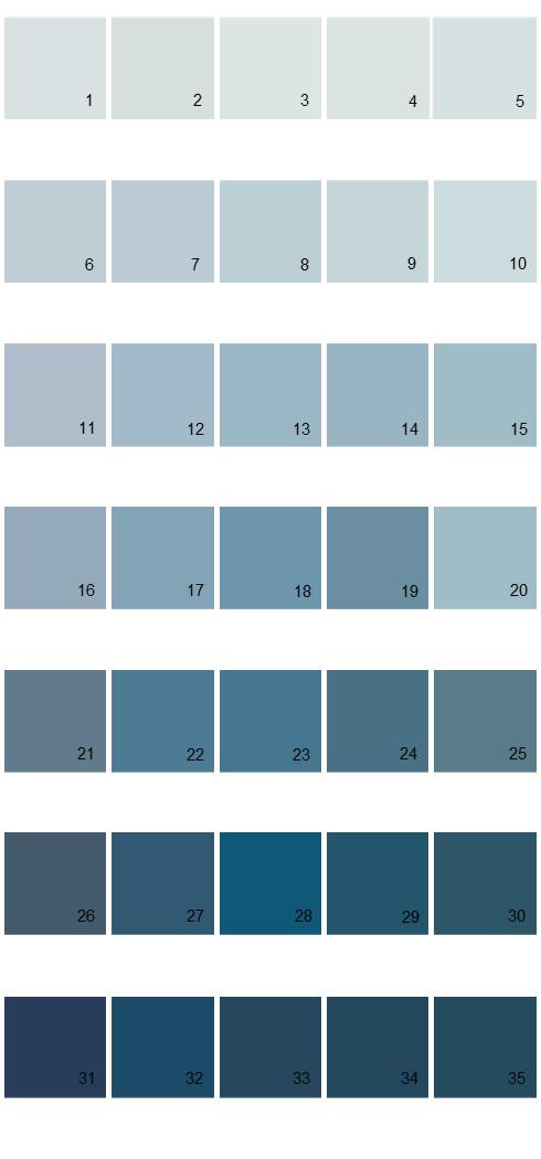 Pittsburgh Paints House Paint Colors - Palette 44
