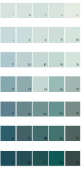 Pittsburgh Paints House Paint Colors - Palette 45