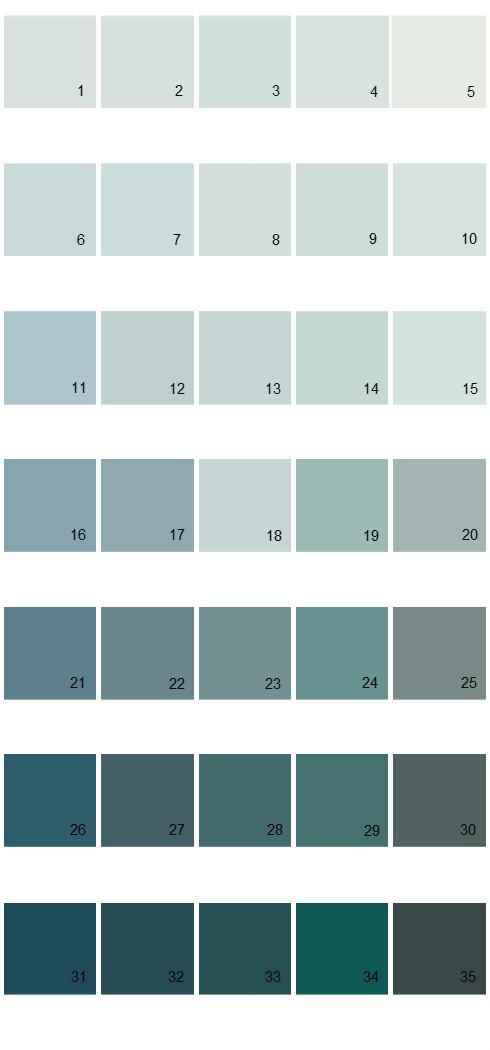 Pittsburgh Paints House Paint Colors - Palette 45