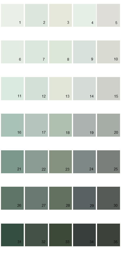 Pittsburgh Paints House Paint Colors - Palette 46