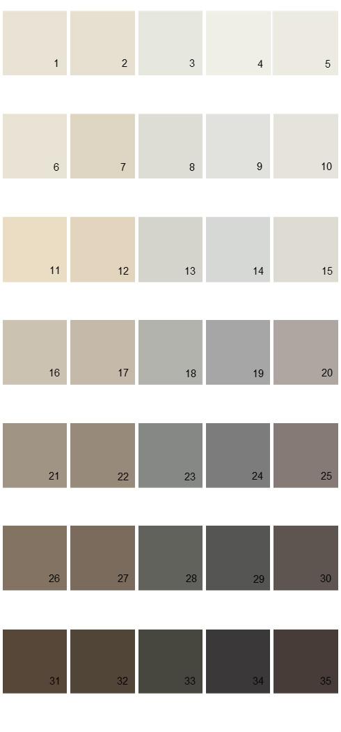 Pittsburgh Paints House Paint Colors - Palette 48