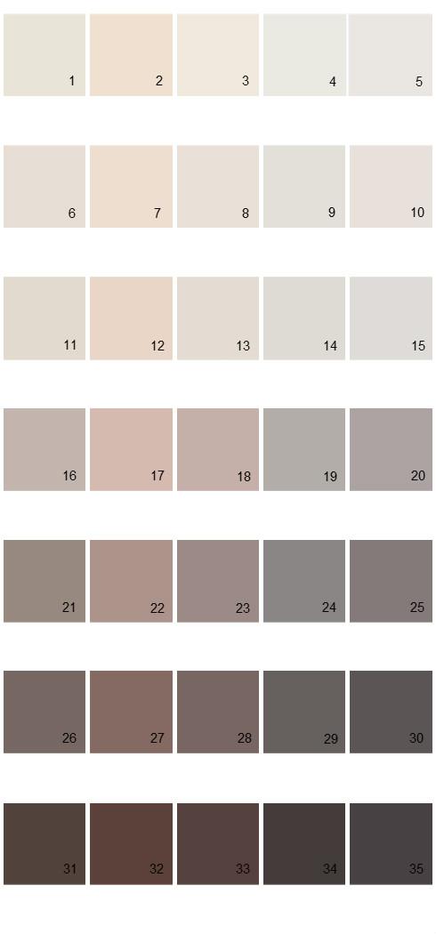 Pittsburgh Paints House Paint Colors - Palette 50