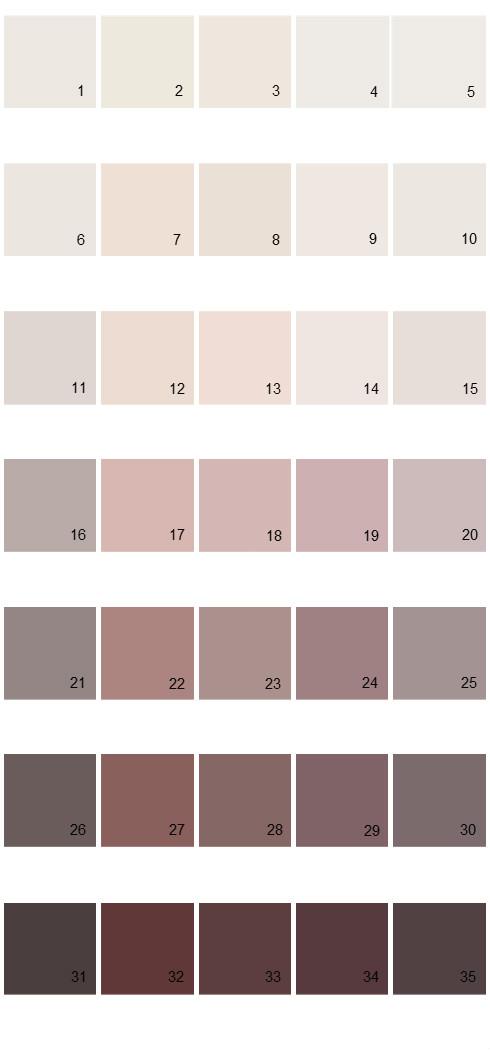 Pittsburgh Paints House Paint Colors - Palette 51