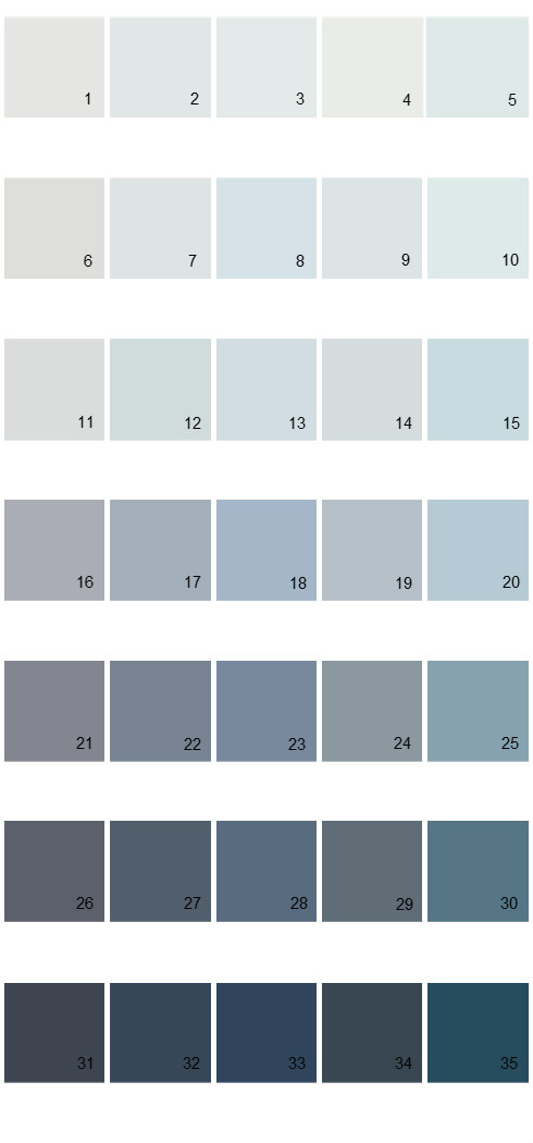 Pittsburgh Paints House Paint Colors - Palette 53