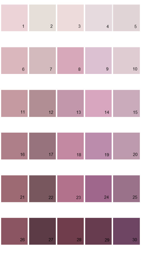 Pratt And Lambert Calibrated House Paint Colors - Palette 02