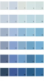 Pratt And Lambert Calibrated House Paint Colors - Palette 05