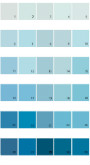Pratt And Lambert Calibrated House Paint Colors - Palette 06