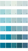 Pratt And Lambert Calibrated House Paint Colors - Palette 07
