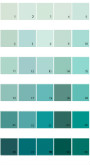 Pratt And Lambert Calibrated House Paint Colors - Palette 10