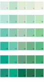 Pratt And Lambert Calibrated House Paint Colors - Palette 11