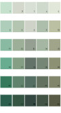 Pratt And Lambert Calibrated House Paint Colors - Palette 13
