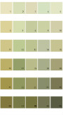 Pratt And Lambert Calibrated House Paint Colors - Palette 17