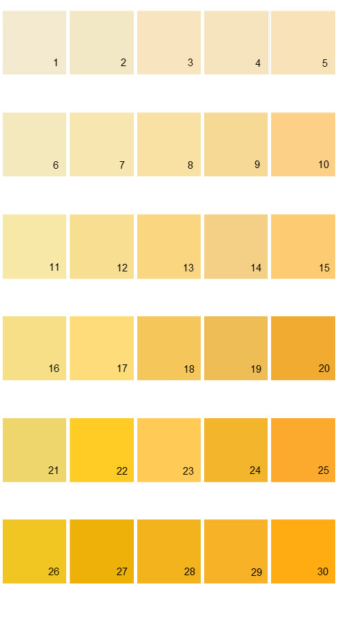 Pratt And Lambert Calibrated House Paint Colors - Palette 20
