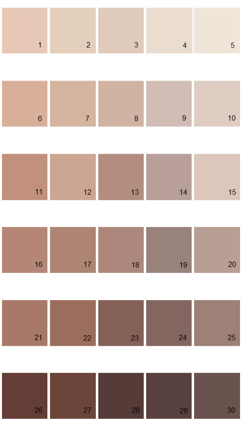 Pratt And Lambert Calibrated House Paint Colors - Palette 25