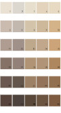 Pratt And Lambert Calibrated House Paint Colors - Palette 26