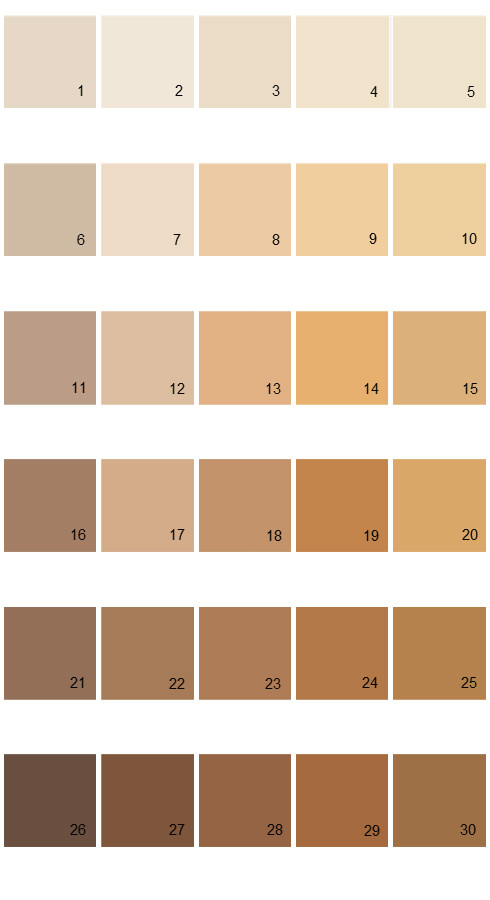 Pratt And Lambert Calibrated House Paint Colors - Palette 27