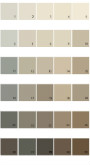 Pratt And Lambert Calibrated House Paint Colors - Palette 31