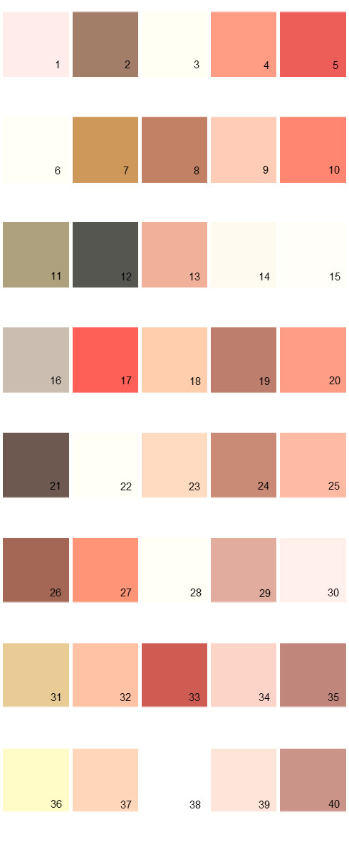 Pratt And Lambert House Paint Colors - Palette 01