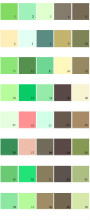 Pratt And Lambert House Paint Colors - Palette 09