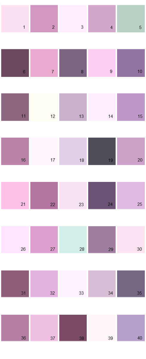 Pratt And Lambert House Paint Colors - Palette 11