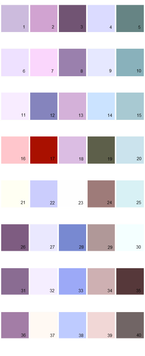 Pratt And Lambert House Paint Colors - Palette 12