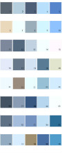 Pratt And Lambert House Paint Colors - Palette 14