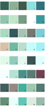 Pratt And Lambert House Paint Colors - Palette 17