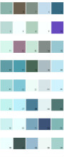 Pratt And Lambert House Paint Colors - Palette 18