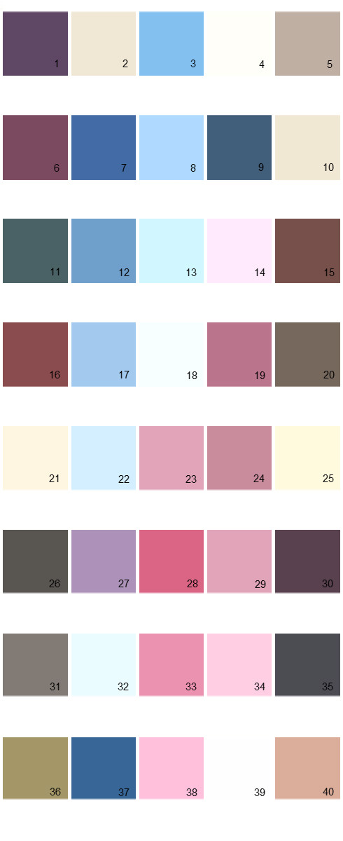 Pratt And Lambert House Paint Colors - Palette 22
