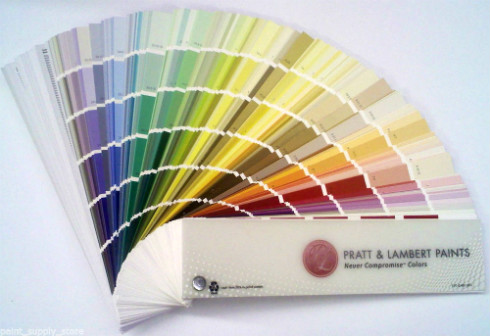 Pratt And Lambert Paint Colors - Paint Fan Deck