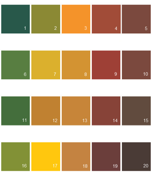 Pratt And Lambert Lights House Paint Colors - Palette 02