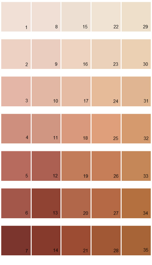 Sherwin williams paint colors color options palette 02 for Neutral paint palette for house