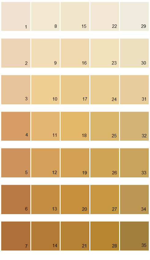 Sherwin Williams Color Options House Paint Colors - Palette 03