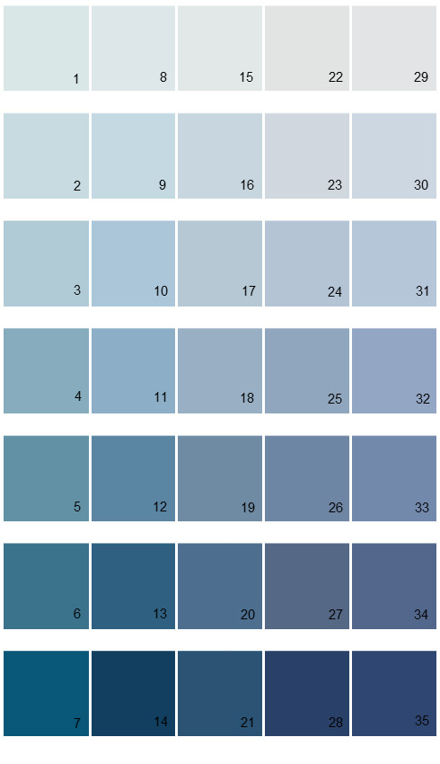 Sherwin williams paint colors color options palette 07 for How to make grey color paint