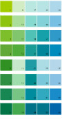 Sherwin Williams Energetic Brights House Paint Colors - Palette 03