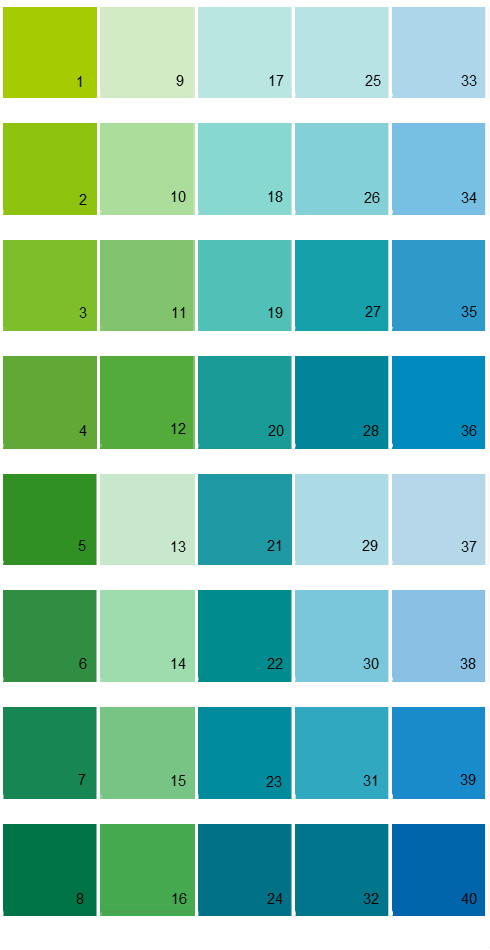 Bon Sherwin Williams Energetic Brights House Paint Colors   Palette 03