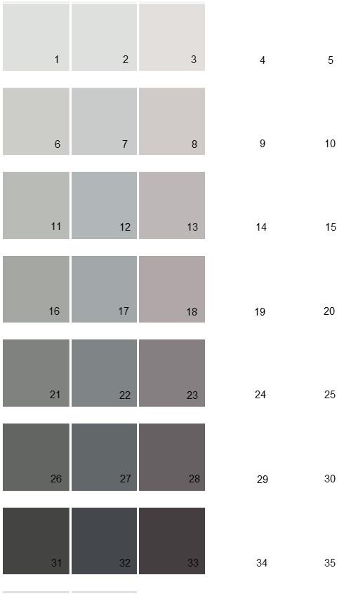 Sherwin Williams Essentials House Paint Colors - Palette 03