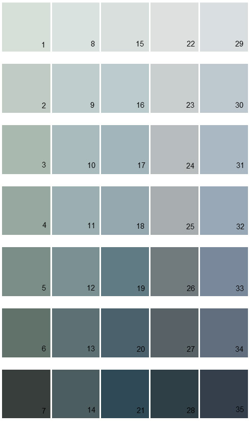 Sherwin williams paint colors fundamentally neutral for Neutral blue grey paint color