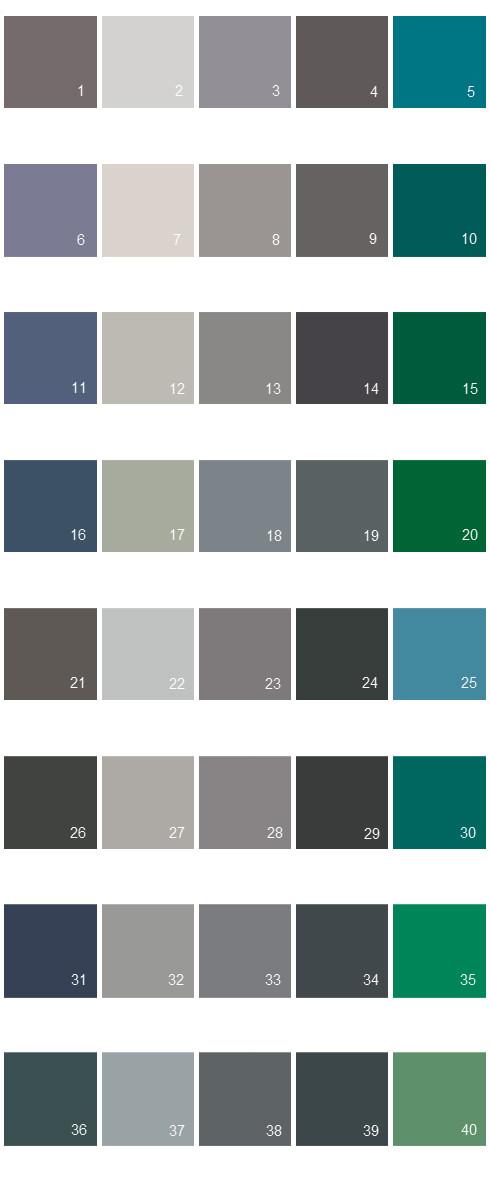 Valspar Colony House Paint Colors - Palette 02