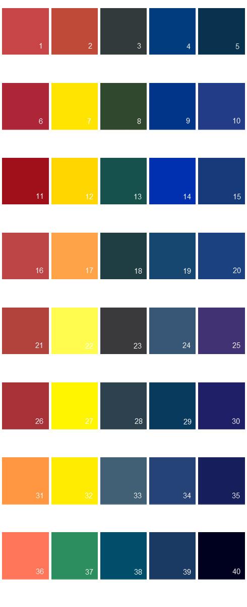 Valspar Colony House Paint Colors - Palette 06