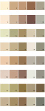 Valspar Colony House Paint Colors - Palette 09