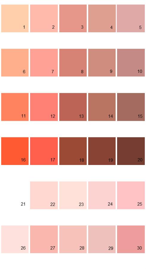 Valspar Tradition House Paint Colors - Palette 09