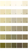 Valspar Tradition House Paint Colors - Palette 35
