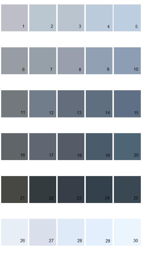 Valspar Paint Colors Tradition Palette 43 House Paint